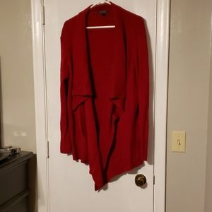 Ralph lauren red cardigan size xl